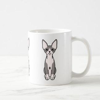 Sphynx Katzen-Cartoon Kaffeetasse