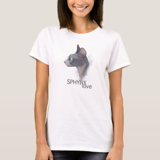 Sphynx Liebe T-Shirt