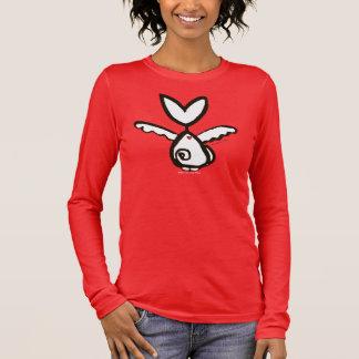 Sphynx Tais Engel V-Hals 3/4 Hülsen-Bluse Langarm T-Shirt
