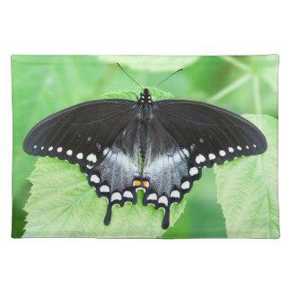 Spicebush Frack-Schmetterlings-Stoff-Tischset Stofftischset