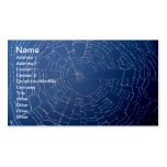 Spiderweb Visitenkartenvorlagen