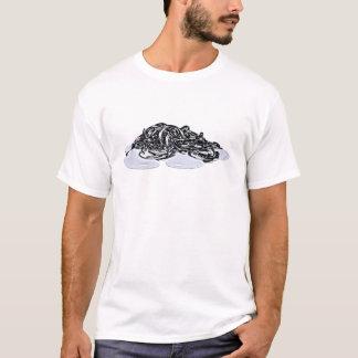 sPieces - schmelzende Metallketten T-Shirt