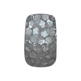 Spiegel-Magnet-kundenspezifische Fraktalkunst Minx Nagelkunst