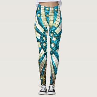 Spiegel-Mosaik Leggings