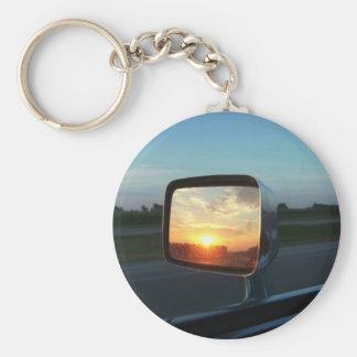 Spiegel-Sonnenaufgang Schlüsselanhänger