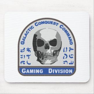 Spiel-Abteilung - galaktischer Eroberungs-Befehl Mousepad