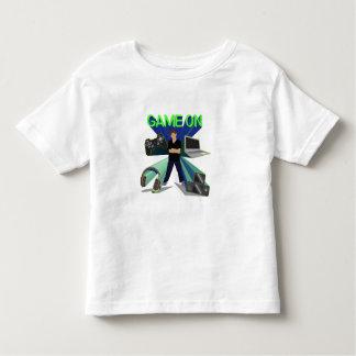 Spiel an! kleinkind t-shirt