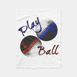 Spiel-Ball Fleecedecke