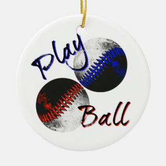 Spiel-Ball Keramik Ornament