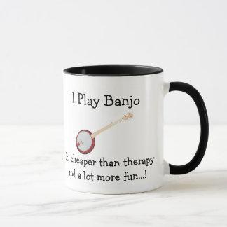 Spiel-Banjo der Banjo-Kaffee-Tassen-I billiger als Tasse