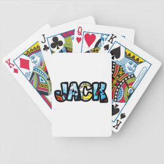 Spiel Chartas Jack auf die person stimmt Bicycle Spielkarten