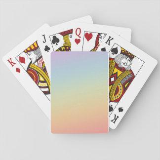 Spiel der Chartas Gefälle von Farben Spielkarten