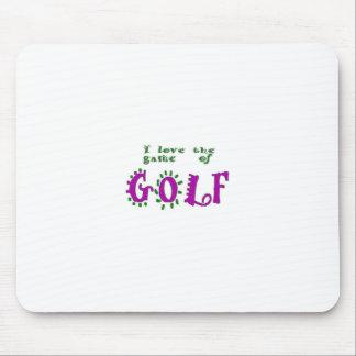Spiel des Golfs Mauspad