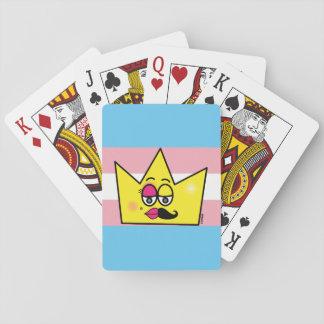 Spiel des Spiels Chartas - Transgênero Spielkarten