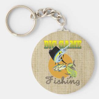 Spiel-Fischen Schlüsselanhänger