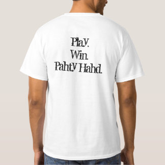 Spiel, Gewinn, Pahty Hahd T-Stück T-Shirt