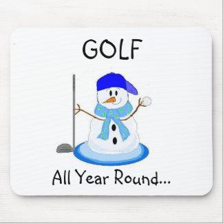 Spiel-Golf das ganze Jahr hindurch Mauspads