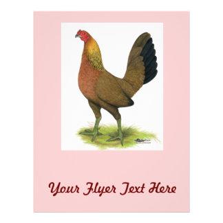 Spiel-Henne:  Erbse-gekämmt Flyer