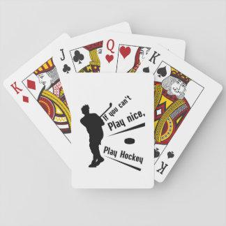 Spiel-Hockey-lustige Geschenk-Mann-Frauen Spielkarten