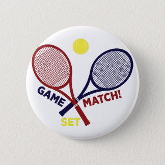 Spiel-Match-Set Runder Button 5,7 Cm