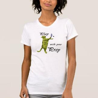 Spiel mit Ihrem Opfer (Racquetball) T-Shirt