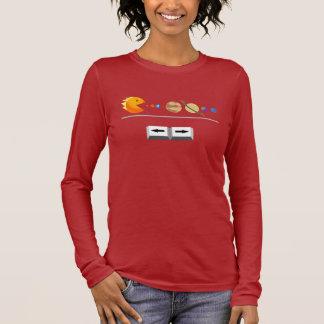 Spiel mit Planeten lustigem T - Shirt