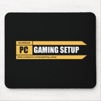 Spiel Mousepad | Seiten-Logo