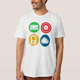 Spiel-Musik-Jahrzehnt-Thema T-Shirt