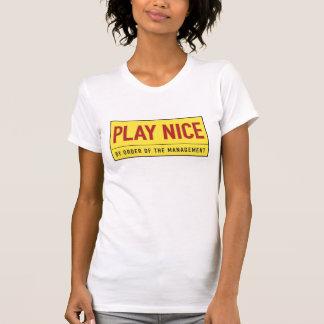 Spiel nett. das Shirt der Frauen