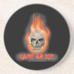 Spiel oder sterben bierdeckel