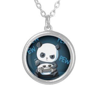 Spiel-Panda-Entwurf Versilberte Kette