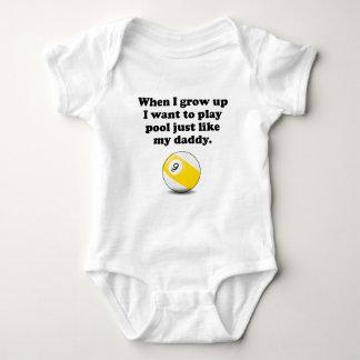 Spiel-Pool mögen meinen Vati Baby Strampler