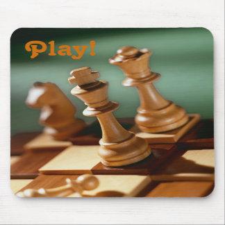 Spiel! Schach Mousepad