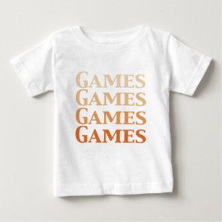 Spiel-Spiel-Spiel-Spiel-Geschenke Baby T-shirt