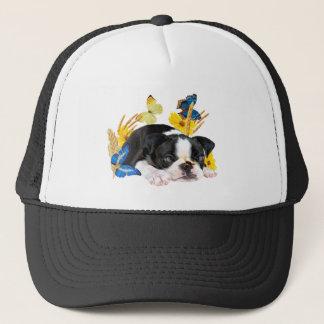 Spiel-Tag Bostons Terrier Truckerkappe