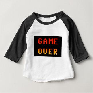 Spiel über 8bit Retro Baby T-shirt