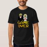 Spiel über der Heirat (8-Bit) T-Shirts