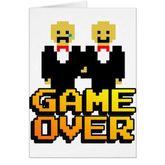 """""""Spiel über"""" Heirat (Homosexuelles, 8-Bit) Karte"""