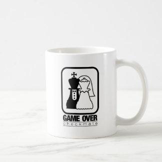 Spiel über Karo-Kameraden Kaffeetasse