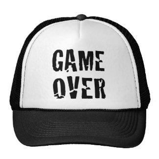 Spiel vorbei baseball mützen