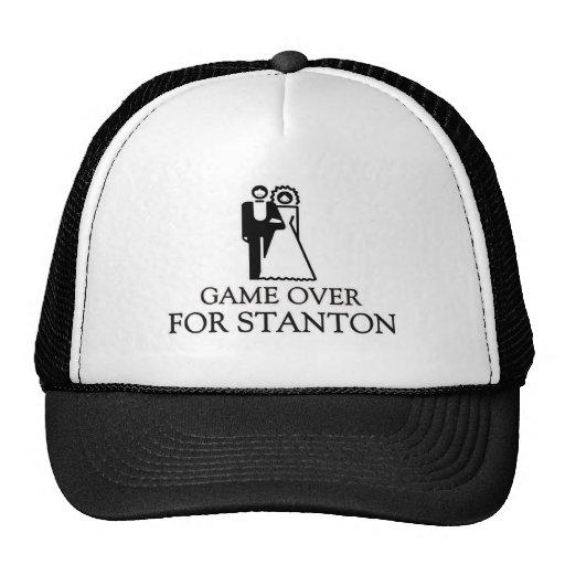 Spiel vorbei für Stanton Retrokultkappen
