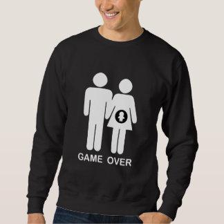 Spiel vorbei sweatshirt