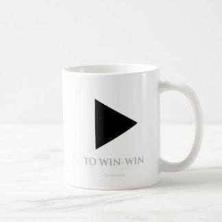 Spiel zu mit Gewinn für beide Parteien - Tasse