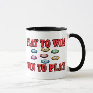 Spiel zu mit Gewinn für beide Parteien, zum - von Tasse