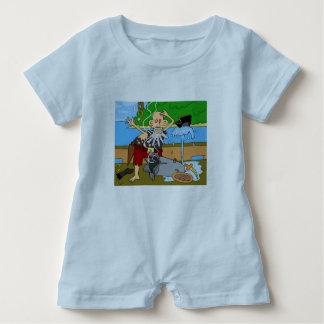 Spielanzug des blauen Babys durch Dal Baby Strampler