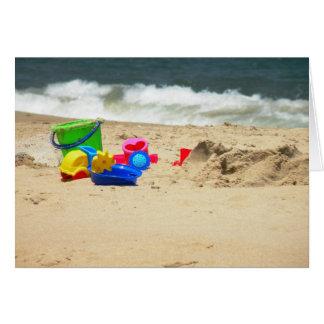 Spielen an der Strand-Karte Karte