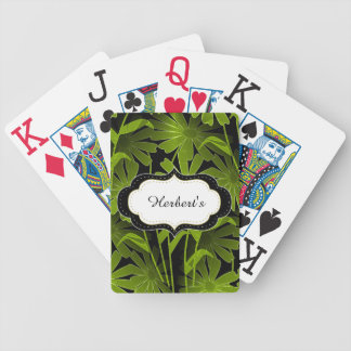 Spielen der Karte-Schablone (c) NachtBlumen-- Bicycle Spielkarten