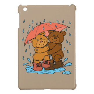 Spielen im Regen iPad Mini Hülle