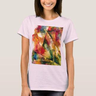 Spielen mit bunten Winkeln T-Shirt