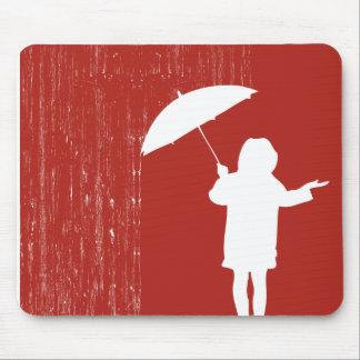 Spielen mit dem Regen Mauspad